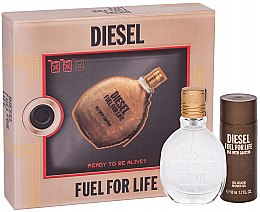 Düfte, Parfümerie und Kosmetik Diesel Fuel for Life Homme - Duftset (Eau de Toilette/50ml + Duschgel/50ml)