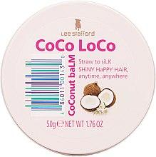 Düfte, Parfümerie und Kosmetik Haarbalsam mit Kokosnuss - Lee Stafford Coco Loco Coconut Balm