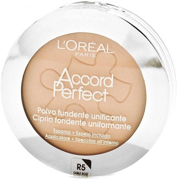 Kompaktpuder - L'Oreal Paris Accord Perfect Compact Powder — Bild N1