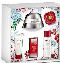 Düfte, Parfümerie und Kosmetik Gesichtspflegeset - Shiseido Bio Performance Gift Set (Gesichtscreme 50ml + Reinigungsschaum 15ml + Gesichtslotion 30ml + Konzentrat/5ml)