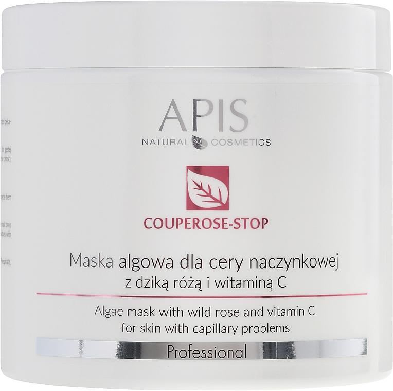 Anti-Couperose Algenmaske mit Hagebuttenextrakt und Vitamin C - APIS Professional Algae Mask