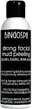 Düfte, Parfümerie und Kosmetik Starkes Gesichts-Schlammpeeling mit Glykol-, Milch- und Fruchtsäure - BingoSpa Strong Facial Mud Peeling