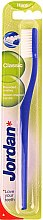 Düfte, Parfümerie und Kosmetik Zahnbürste hart Classic blau - Jordan Classic Hard Toothbrush