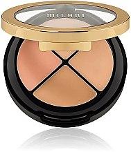 Düfte, Parfümerie und Kosmetik Gesichts-Concealer-Palette - Milani Conceal Perfect All-In-One Concealer Kit