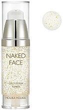Düfte, Parfümerie und Kosmetik Goldige Gesichtsgrundierung - Holika Holika Naked Face Gold Serum Primer