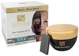 Düfte, Parfümerie und Kosmetik Mineralschlammmaske für das Gesicht mit Provitamin B5 und E - Health and Beauty Magic Mud Mask