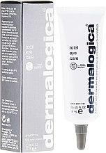 Düfte, Parfümerie und Kosmetik Glättender UV-Schutz zum optischen Aufhellen der Augenpartie SPF 15 - Dermalogica Total Eye Care SPF 15