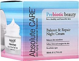 Düfte, Parfümerie und Kosmetik Ausgleichende und revitalisierende Nachtcreme - Absolute Care Prebiotic Beauty Balance&Repair Night Cream