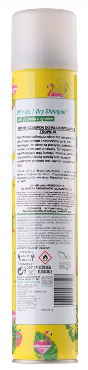 Trockenes Shampoo - Batiste Dry Shampoo Tropical — Bild N2