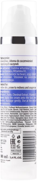 Gesichtscreme mit Vitamin C für Rosazea-Haut - Bielenda Professional Capilary Repair Face Cream — Bild N2