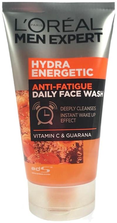 Gesichtswaschgel für Männer mit Vitamin C und Guarana - L'Oreal Paris Men Expert Hydra Energetic Anti-Fatigue Face Wash — Bild N1