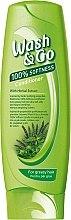 Düfte, Parfümerie und Kosmetik Haarspülung mit Kräuterextrakt für fettiges Haar - Wash&Go