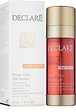 Düfte, Parfümerie und Kosmetik Regenerierendes Gesichtsöl-Serum - Declare Vital Balance Power Duo Oil+Serum