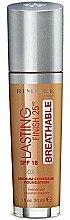 Düfte, Parfümerie und Kosmetik Langanhaltende atmungsaktive Foundation LSF 18 - Rimmel Lasting Finish 25HR Breathable Foundation SPF 18