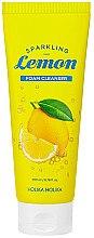 Düfte, Parfümerie und Kosmetik Gesichtsreinigungsschaum für Akne und fettige Haut - Holika Holika Sparkling Lemon Foam Cleanser