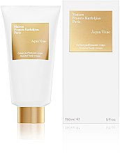 Düfte, Parfümerie und Kosmetik Maison Francis Kurkdjian Aqua Vitae - Parfümierte Körpercreme