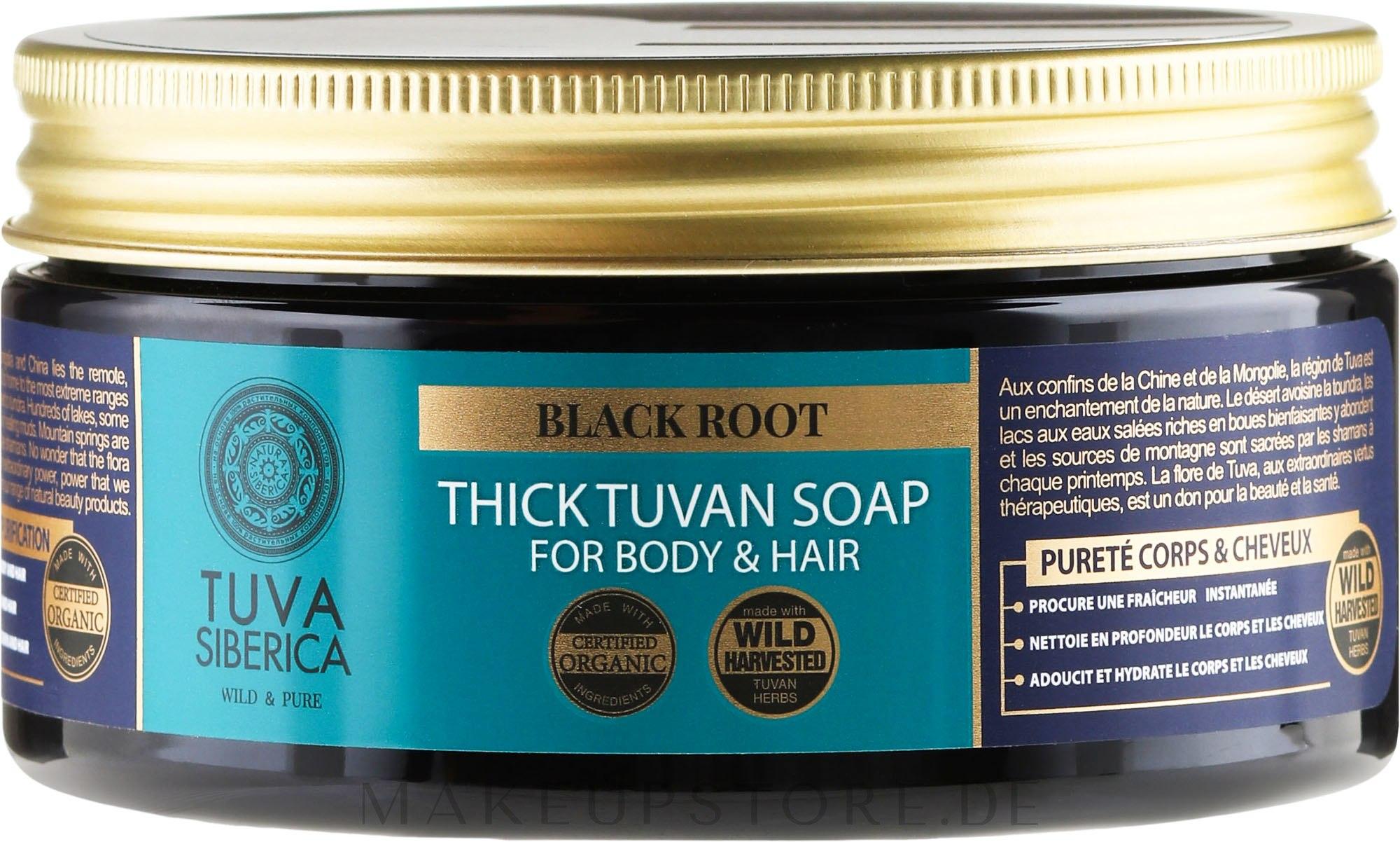 Nahrhafte Seife für Körper und Haar - Natura Siberica Tuva Siberica Thick Tuvan Hair & Body Soap — Bild 300 ml
