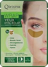 Düfte, Parfümerie und Kosmetik Anti-Falten Hydrogel Augenpads - Qiriness Wrap Yeux Hyal-Eclat Radiant Eye Patches
