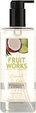 Düfte, Parfümerie und Kosmetik Flüssige Handseife mit Kokosnuss und Limette - Grace Cole Fruit Works Coconut & Lime Hand Wash