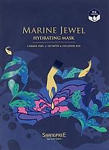 Düfte, Parfümerie und Kosmetik Feuchtigkeitsspendende Tuchmaske für das Gesicht - Shangpree Marine Jewel Hydrating Mask
