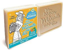 Düfte, Parfümerie und Kosmetik Bio Seife mit Melone und Minze 2 St. - Secrets De Provence My Marseille Soap Melon-Mint (2x100g)