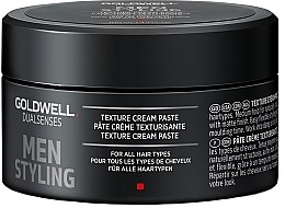 Modellierende Haarpaste für alle Haartypen - Goldwell Dualsenses For Men Texture Cream Paste — Bild N2