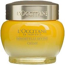 Düfte, Parfümerie und Kosmetik Feuchtigkeitsspendende Anti-Aging Gesichtscreme mit Immortellenöl - L'occitane Immortelle Divine Moisturizer Cream