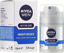 Düfte, Parfümerie und Kosmetik Anti-Falten Feuchtigkeitscreme für Männer - Nivea For Men Aktive Age Moisturiser Cream