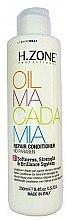 Düfte, Parfümerie und Kosmetik Regenerierende Haarspülung mit Macadamiaöl - H.Zone Oil Macadamia Repair Conditioner
