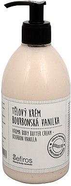Körpercreme - Sefiros Aroma Body Butter Cream Bourbon Vanilla — Bild N1