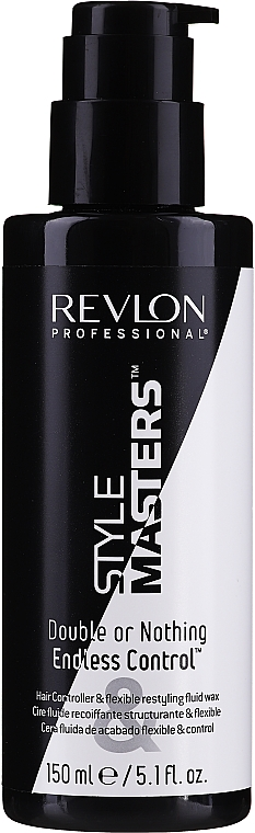 Flüssiges Wachs für Haarstyling - Revlon Professional Style Masters Double or Nothing Endless Control — Bild N1