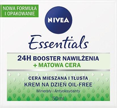 Tägliche mattierende Creme für fettige und Mischhaut - Nivea Aqua Effect — Bild N1
