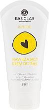 Düfte, Parfümerie und Kosmetik Feuchtigkeitsspendende Handcreme mit Schneckenschleim - BasicLab Dermocosmetics Famillias