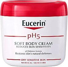 Düfte, Parfümerie und Kosmetik Sanfte Körpercreme für empfindliche Haut - Eucerin Soft Body Cream