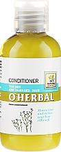 Düfte, Parfümerie und Kosmetik Haarspülung für trockenes und geschädigtes Haar mit Flachs-Extrakt - O'Herbal