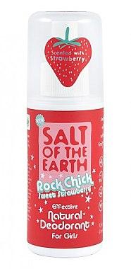 Natürliches Deospray - Salt of the Earth Rock Chick Girls Sweet Strawberry Natural Deodorant — Bild N1