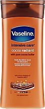 Düfte, Parfümerie und Kosmetik Feuchtigkeitsspendende Körperlotion mit reinem Kakaobutter - Vaseline Intensive Care Cocoa Radiant Lotion