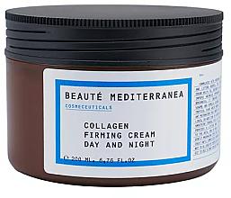 Düfte, Parfümerie und Kosmetik Straffende Gesichtscreme für Tag und Nacht mit Kollagen - Beaute Mediterranea Collagen Firming Cream Day & Night