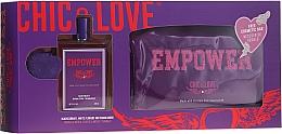 Chic&Love Empower - Duftset (Eau de Toilette 100ml + Kosmetiktasche) — Bild N1