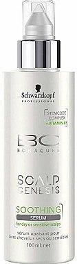 Beruhigendes Haarserum für trockene und empfindliche Kopfhaut - Schwarzkopf Professional BC Bonacure Scalp Genesis Soothing Serum — Bild N1