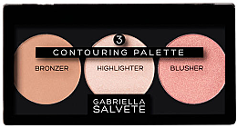 Düfte, Parfümerie und Kosmetik Konturierpalette für das Gesicht - Gabriella Salvete Contouring Palette