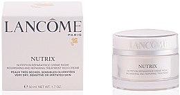 Düfte, Parfümerie und Kosmetik Feuchtigkeitscreme für trockene Haut - Lancome Nutrix Nourishing and Repairing Treatment Rich Cream Limited Edition