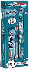 Düfte, Parfümerie und Kosmetik Mundpflegeset für Kinder - Aquafresh Advance (Zahnpasta 75ml + Blaue Zahnbürste 9-12 Jahre 1 St.)