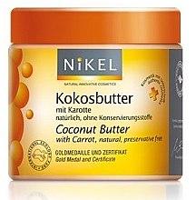 Düfte, Parfümerie und Kosmetik Kokosbutter mit Karotte - Nikel Coconut Butter