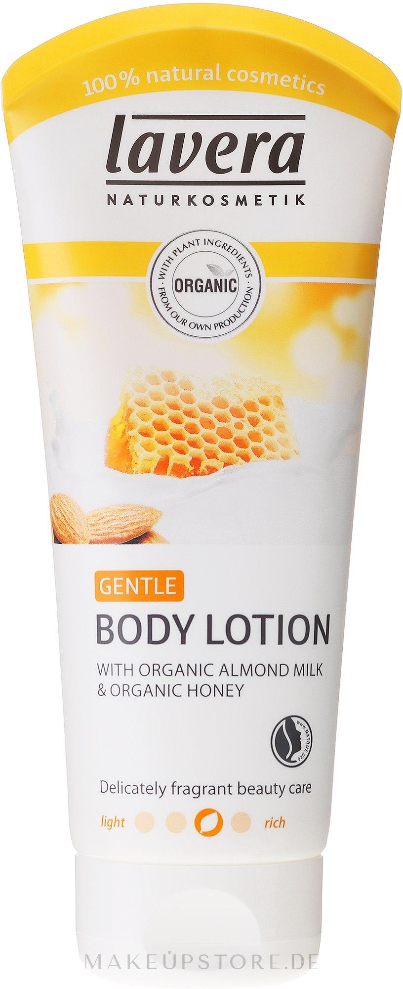 Körperlotion - Lavera Almond Milk&Honey Body Lotion — Bild 200 ml