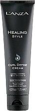 Düfte, Parfümerie und Kosmetik Lockendefinierende Haarcreme mit Keratin - Lanza Healing Style Curl Define