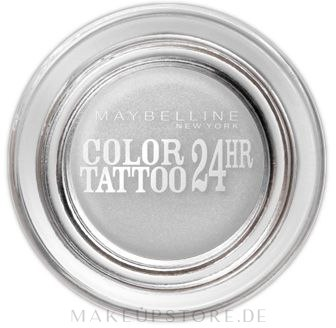 Cremige Lidschatten - Maybelline Color Tattoo 24 Hour — Bild 45 - Infinite White