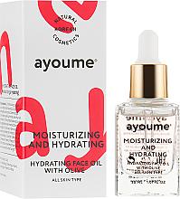 Düfte, Parfümerie und Kosmetik Feuchtigkeitsspendendes Gesichtsöl mit Olive - Ayoume Moisturizing & Hydrating Face Oil With Olive