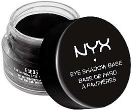 Düfte, Parfümerie und Kosmetik Lidschatten-Primer für intensive Farben - NYX Professional Makeup Eyeshadow Base Black