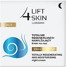 Düfte, Parfümerie und Kosmetik Intensiv feuchtigkeitsspendende und regenerierende Nachtcreme - Lift4Skin Snail C+ Night Cream
